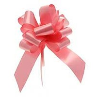 Pink Pull Bow 50mm - Pack of 20