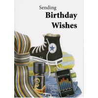 #11 Greeting Cards - Open Male 12pk
