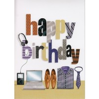 #15 Greeting Cards - Open Male 12pk