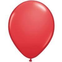 """Qualatex Red Standard 11"""" Latex 100ct"""