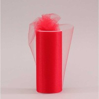 Red Tulle (15cm x 23m)