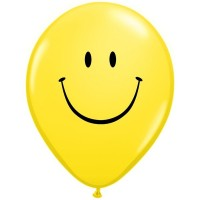 """Smiley Face 11"""" Latex 25ct"""