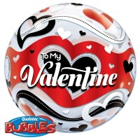 To My Valentine 22inch  Bubble
