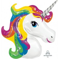 "Unicorn Supershape 33"" x 29"""