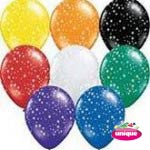 "12"" Premium Printed All-Round Helium (Retail) 5ct"