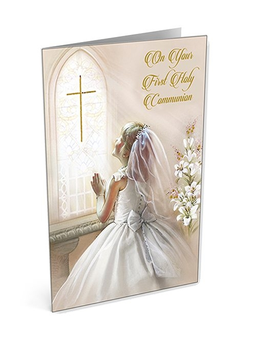 Communion And Confirmation Greeting Cards