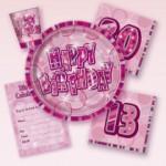 Birthday Glitz - Pink