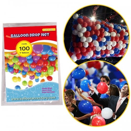 Balloon Drop Net 100 - 2.5m x 1m