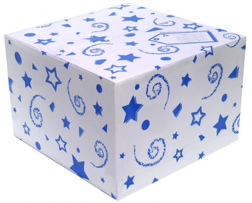 Balloon Box Blue (370 x 370 x 245) (Pack of 25)