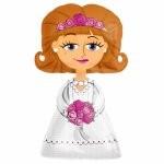 Bride Airwalker foil balloon