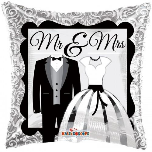 "Mr and Mrs Balloon - 18"" Foil Balloon"