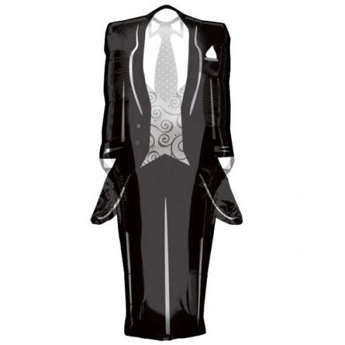 Tuxedo Shape 91cm x 38cm