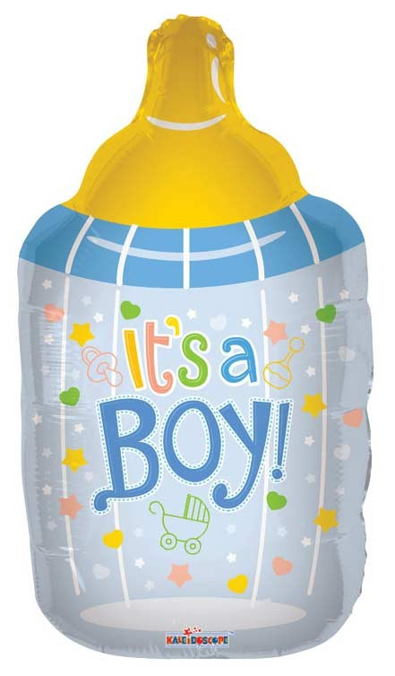 Baby Boy Bottle Shape (36inch)