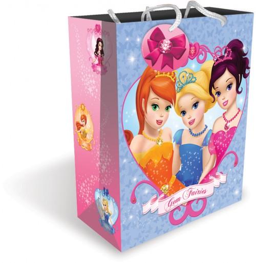 Gift BAG MEDIUM GEM FAIRIES (12 gift bags ,1.09 each)
