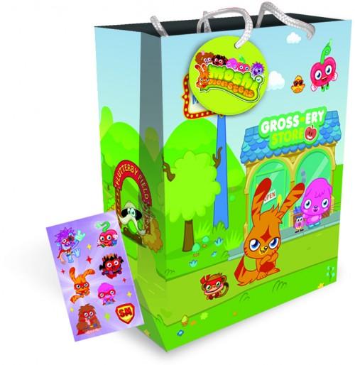 Gift BAG MEDIUM MOSHI MONSTERS (12 gift bags , 1.09 each )