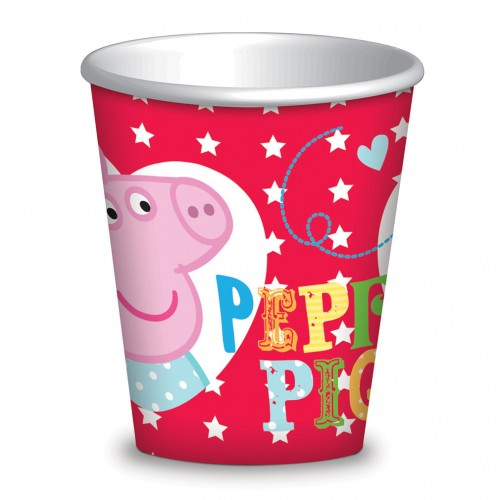 Peppa Pig Cups 8CT