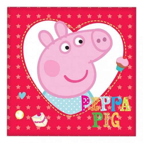 Peppa Pig Napkins 16CT