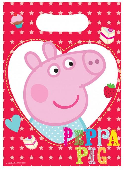 Peppa Pig Lootbags 8CT