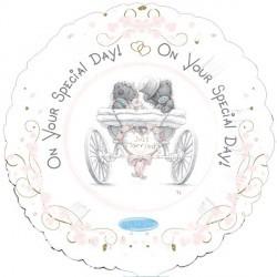 """Me to You Wedding - 18"""" foil balloon"""