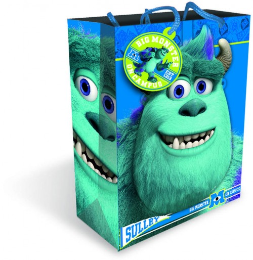 Gift BAG LARGE MASK DISNEY MONSTERS ( 6 gift bags ,1.19 each)