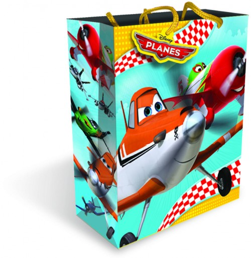 Gift BAG LARGE DISNEY PLANES ( 6 gift bags,1.19 each)