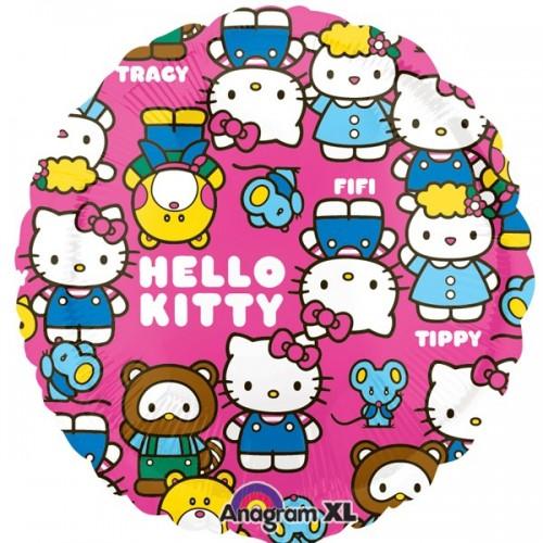 "Hello Kitty Characters 18"" Foil Balloon"