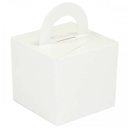 White Balloon Weight / Gift Box 10CT