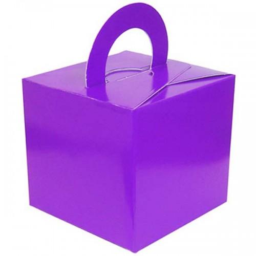 Purple Balloon Weight / Gift Box 10CT