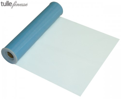 Tulle Finesse 12'' x 25yards Light Blue
