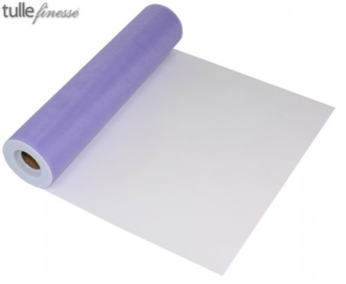 Tulle Finesse 12'' x 25yards Lavender