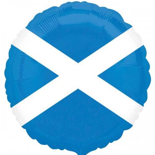 "Scotland Flag - 18"" Foil Balloon"