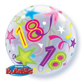 "Brilliant Stars 22"" Single Bubble - 18"