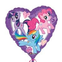 "My Little Pony - Heart - 18"" foil balloon"