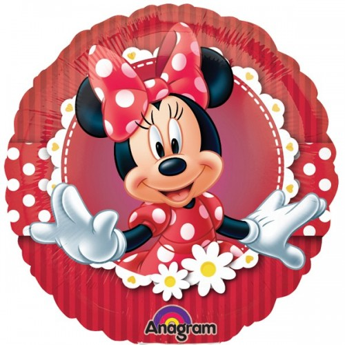 """Minnie Mouse Mad about Minnie 18"""" Foil Balloon"""