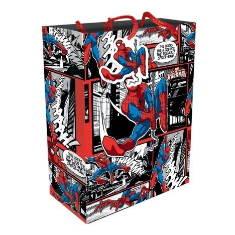 Spiderman Gift Bag Large (Pack of 6)