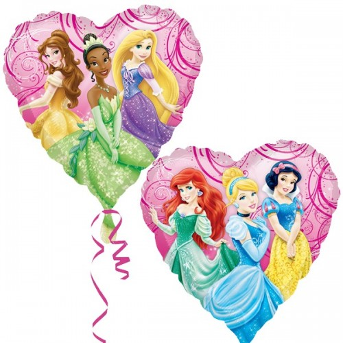 "Disney Princess Garden 18"" Foil Balloon"