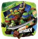 "Happy Birthday Teenage Mutant Ninja Turtles - 18"" foil balloon"