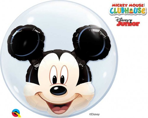 "Disney Mickey Mouse 24"" Double Bubble"
