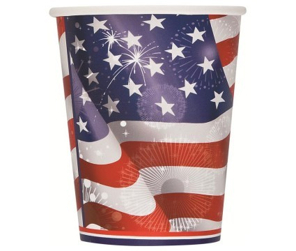 Old Glory 9oz Cups 8ct