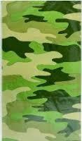 Camo Plastic Tablecover