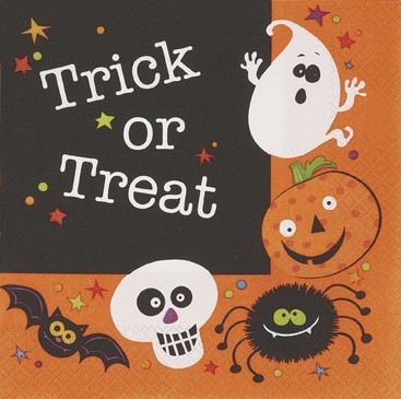 Spooky Smiles Luncheon Napkins 20ct