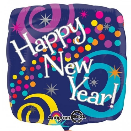"Happy New Year - 18"" Foil Balloon"