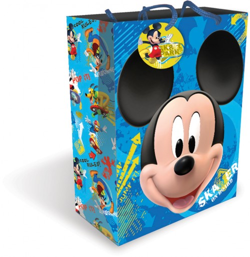 Gift BAG LARGE MICKEY MOUSE (6 gift bags ,1.19 each )