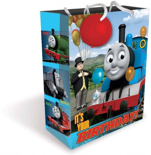 Gift BAG LARGE THOMAS (6 gift bags,1.19 each)