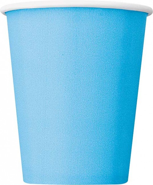 Powder Blue 9 OZ. Cups 14 CT.