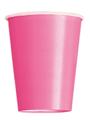 Hot Pink 9 OZ. Cups 14 CT.