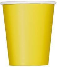 Sunflower Yellow 9 OZ. Cups 14 CT.