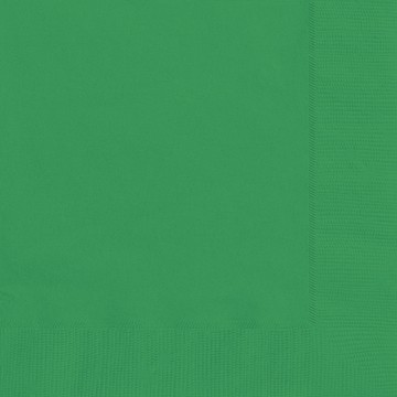 Emerald Green Luncheon Napkins 20 CT.