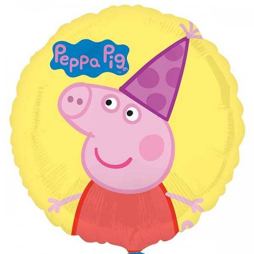 """Peppa Pig Party - 18"""" Foil Balloon"""