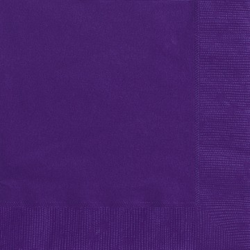 Deep Purple Luncheon Napkins 20 CT.